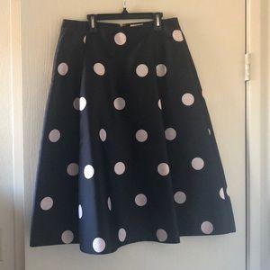 Kate Spade Midi Dot Skirt